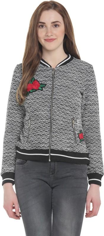 Honey By Pantaloons Full Sleeve Self Design Women Jacket