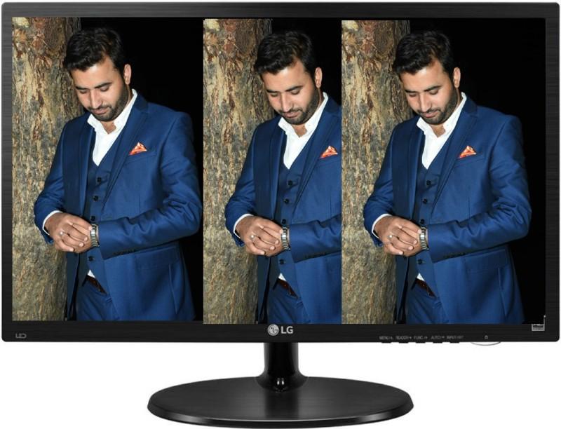 LG 18.5 inch HD LED Backlit Monitor(19M38HB- BB) image
