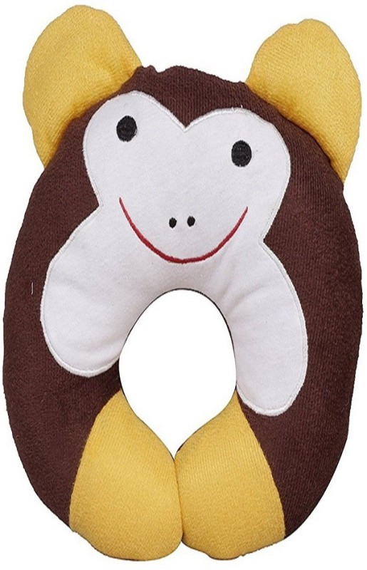 InEffable Cotton U Shape Baby Pillow Pack of 1(Multicolor)