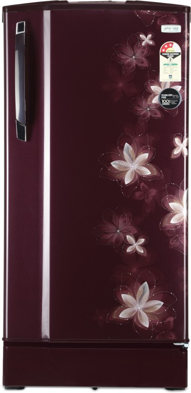 Godrej 185 L Direct Cool Single Door 3 Star Refrigerator(Galaxy Wine, R D 1853 PM 3.2 GXY WIN)
