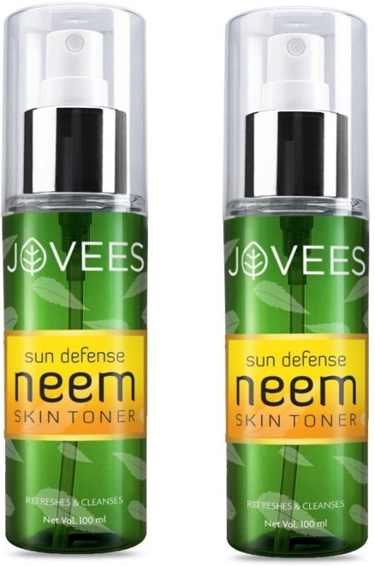 Jovees Sun Defense Skin Toner (Pack of 2)(200 ml)