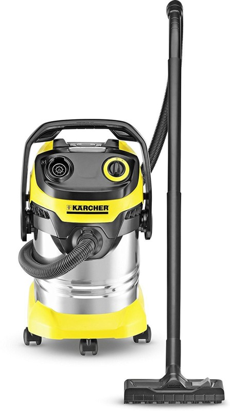 Karcher WD 5 Premium Wet & Dry Cleaner(Yellow)