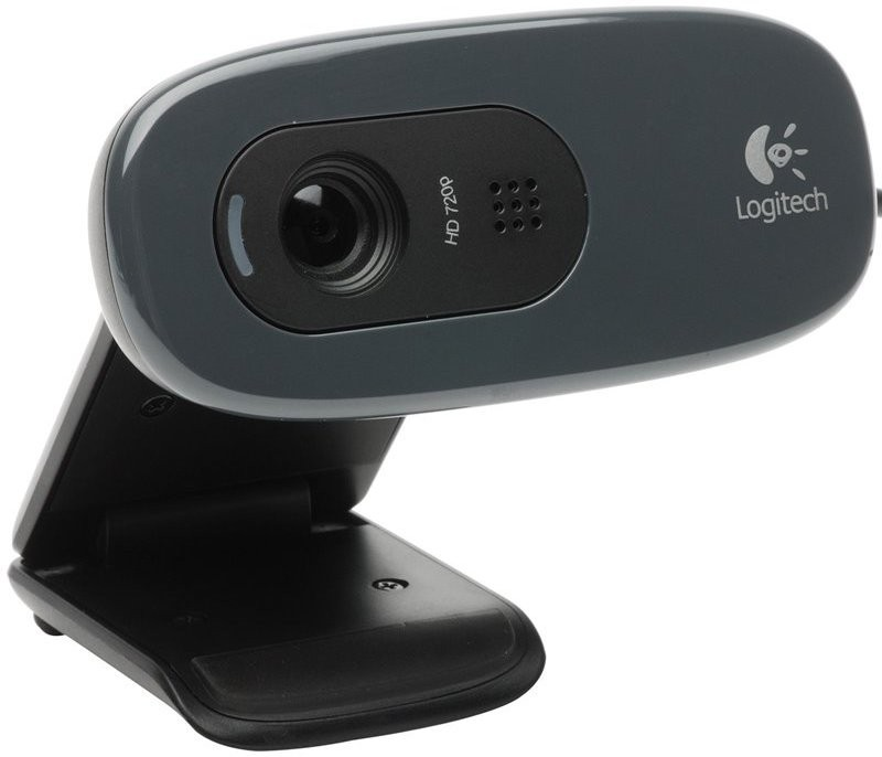 Logitech C270 Webcam(Black)