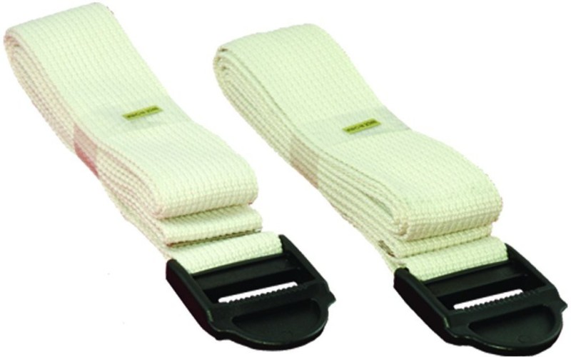 WELCARE W2725 Nylon Yoga Strap(White)