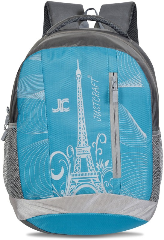Justcraft Candy 1000D 30 L Backpack(Grey)