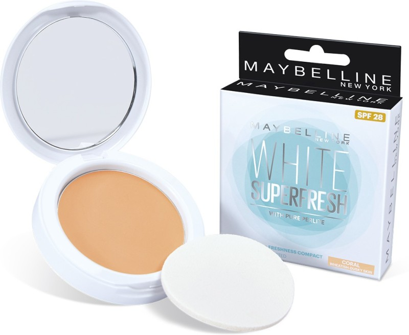 Maybelline White Super Fresh Compact(Coral, 8 g)