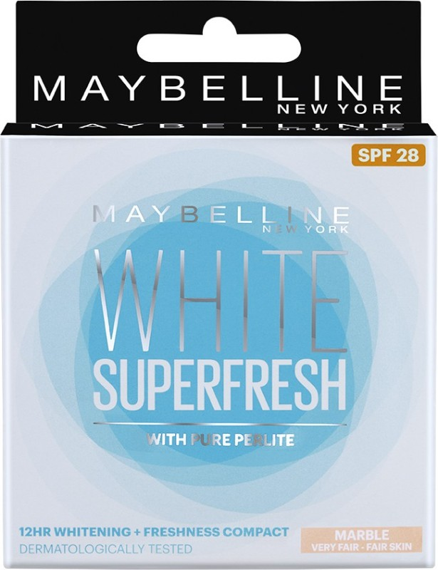 Maybelline White Super Fresh Compact(Marble)