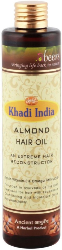 abeers ALMOND OIL Hair Oil(225 ml)