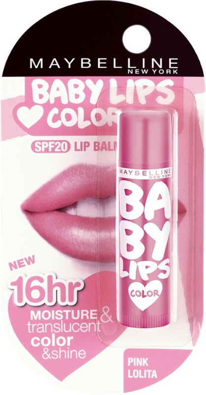 Maybelline Baby Lips Pink Lolita(Pack of: 1, 4 g)
