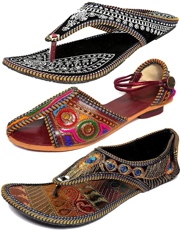 Thari Choice Women Multi Flats