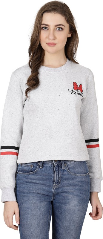Mickey & Friends Full Sleeve Graphic Print Women's Sweatshirt