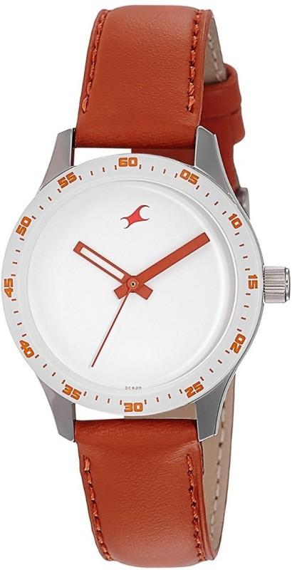 Fastrack Monochrome Analog Watch for Women Watch For Women