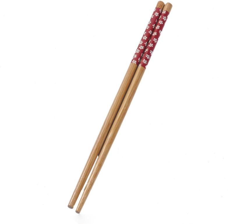 sukot Eating, Training Bamboo Chinese Chopstick(Brown Pack of 2)