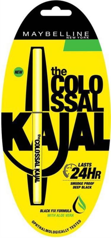 Maybelline COLLOSAL KAJAL 0.35gm 0.35 g(BLACK)
