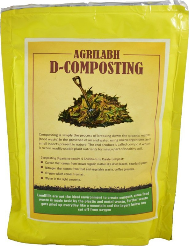 AGRILABH DECOMPOST 500 GRAM Soil Manure(500 g Powder)