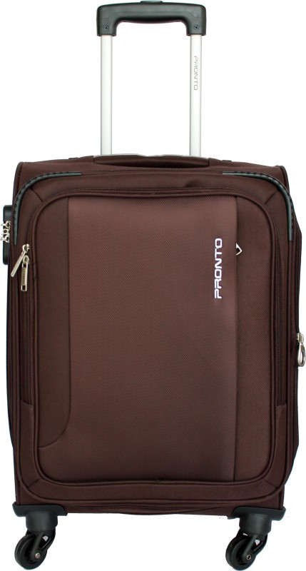 Pronto Space Plus 6 Expandable Check-in Luggage - 26 inch(Brown)
