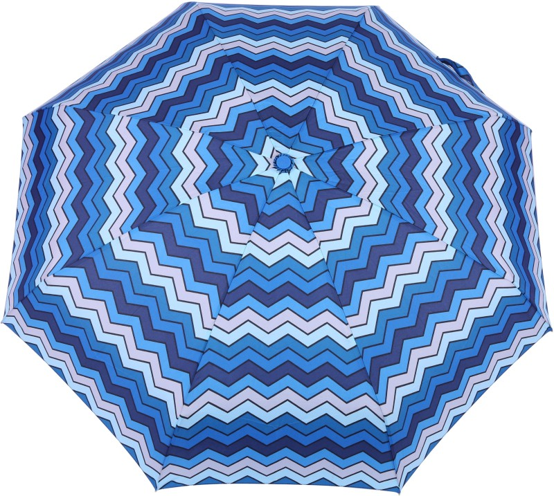 FabSeasons 5 fold Digital Printed Small Compact Manual Umbrella which fits in your Handbag for women Umbrella(Multicolor)