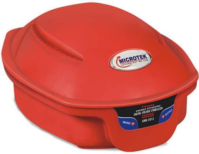 Microtek EMR-2013 Voltage Stabilizer for Refrigerator upto 300 Liters(Red)