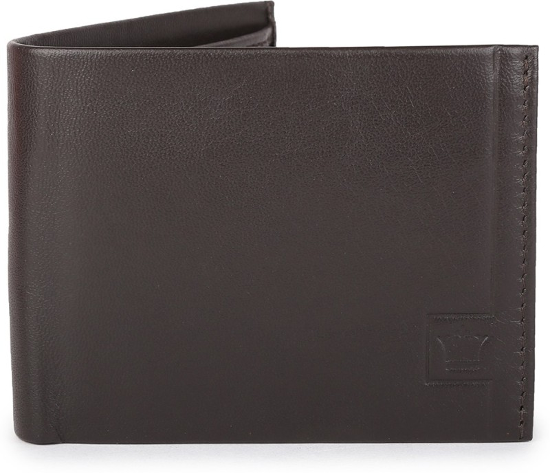 Louis Philippe Men Brown Artificial Leather Wallet(3 Card Slots)
