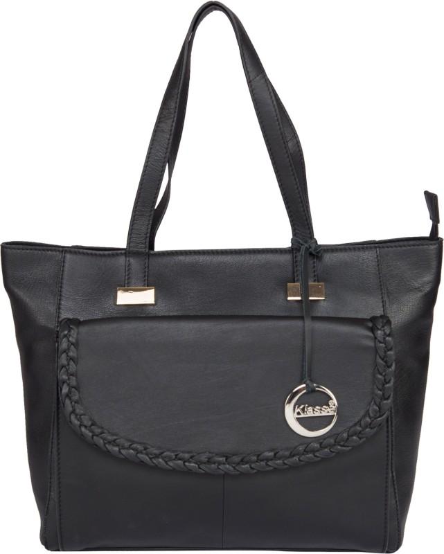 Klasse KVLB_9616_BLACK_N Shoulder Bag(Black, 1 L)