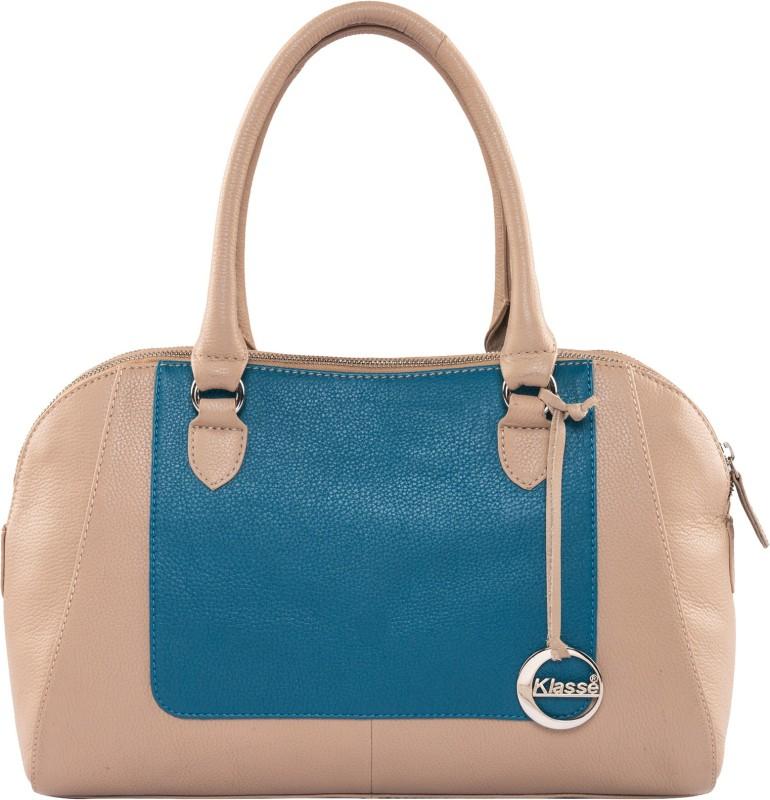 Klasse KVLB_6354B_BEIGE-BLUE_N Waterproof Shoulder Bag(Multicolor, 2 L)