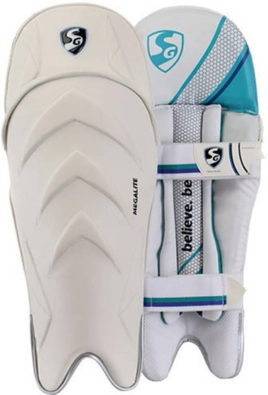 SG Nylite Wicket keeping leg guard(Full Size, Multicolor)