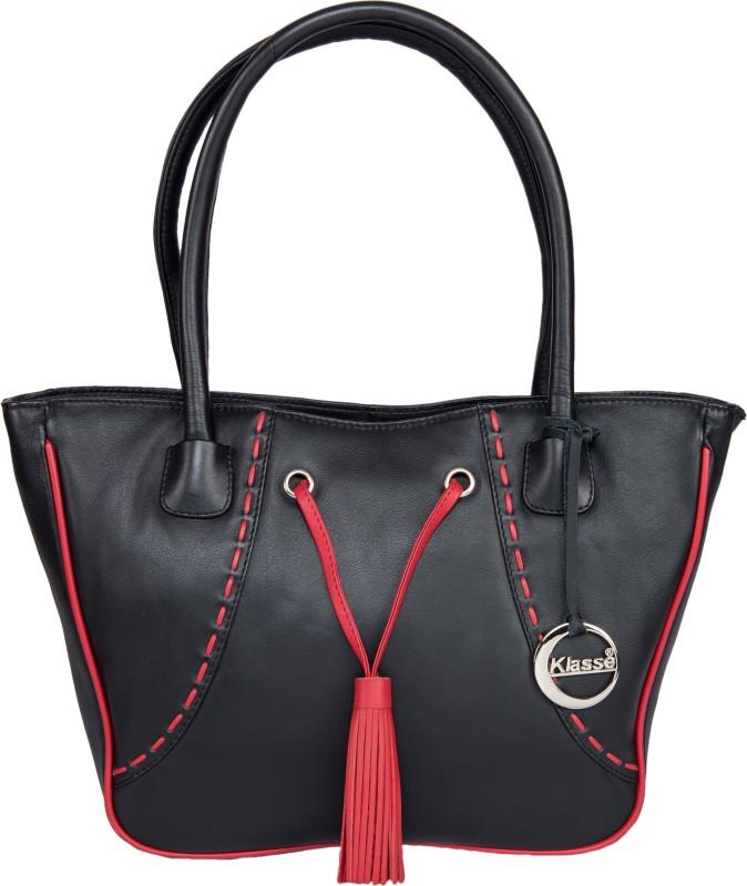 Klasse Women Black Shoulder Bag