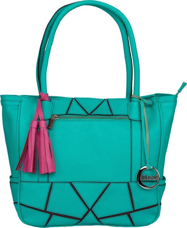 Klasse Women Green Shoulder Bag
