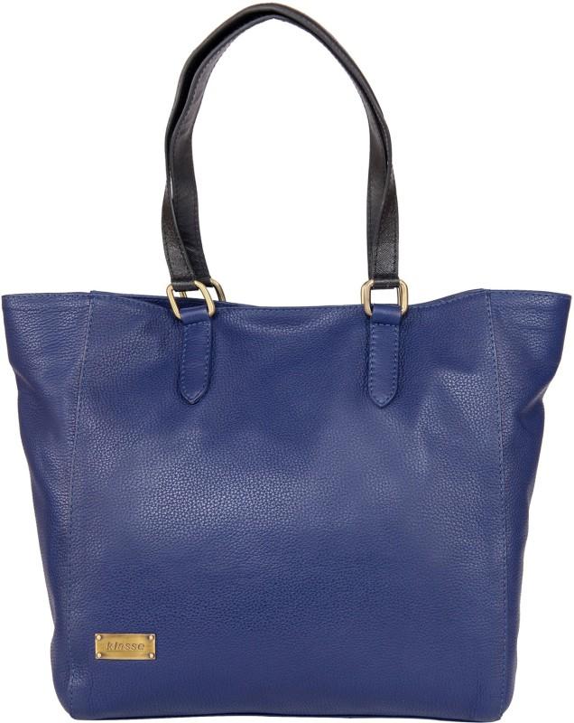 Klasse Women Blue Shoulder Bag