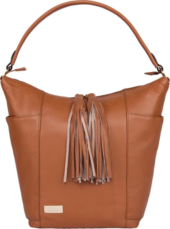 Klasse Women Tan Bottle Bag