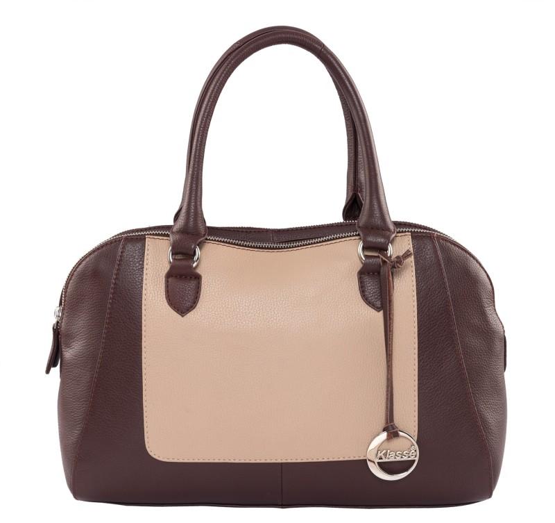 Klasse Women Tan, Brown Hand-held Bag