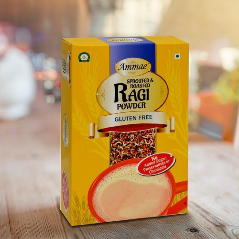 ammae Sprouted Ragi Powder, 175g (Pack of Two) 350 g(Pack of 2)