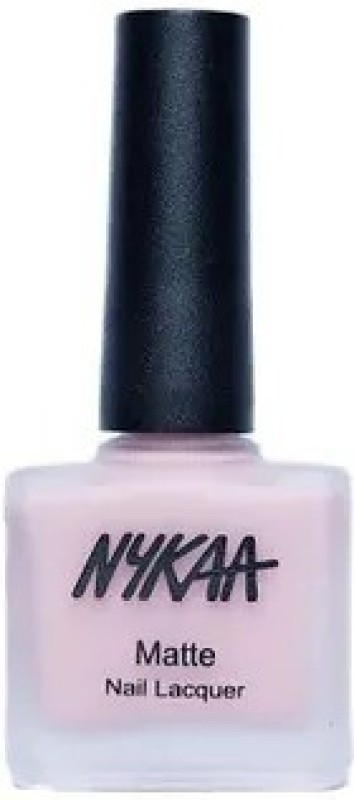 Nykaa Matte Nail Enamel - Pink Meringue 28 Pink Meringue(9 ml)