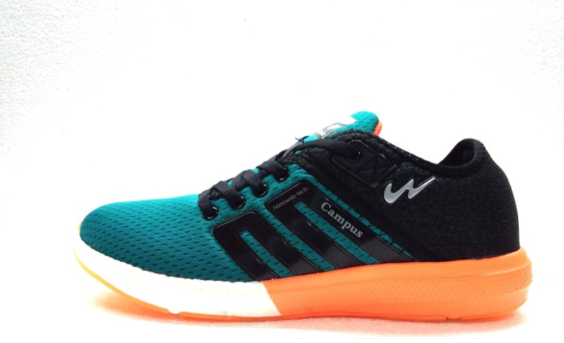 Campus Campus Battle Peacock.Grn/B Running Shoes For Men(Green)