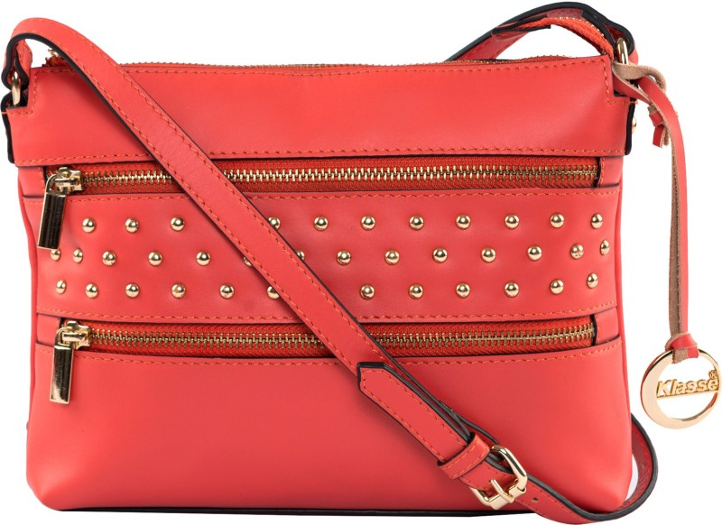 Klasse Maroon Sling Bag