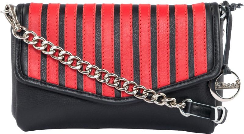 Klasse Red, Black Sling Bag