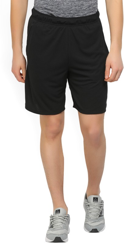 Nike Self Design Mens Black Sports Shorts