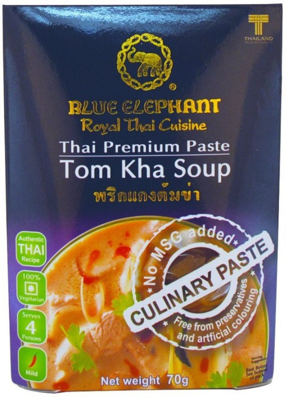 Blue Elephant Thai Tom Kha Soup Paste, 70 Gms(70 g)