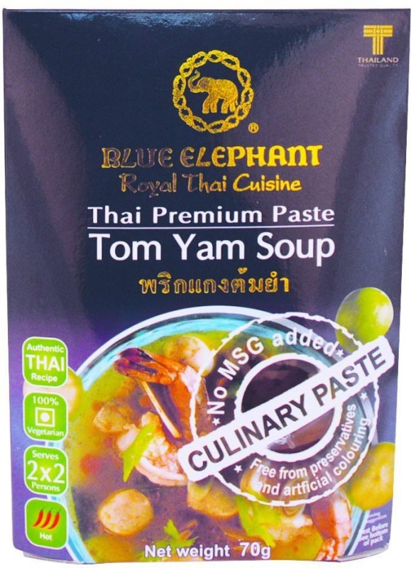 Blue Elephant Thai Tom Yum Soup Paste, 70 Gms(70 g)