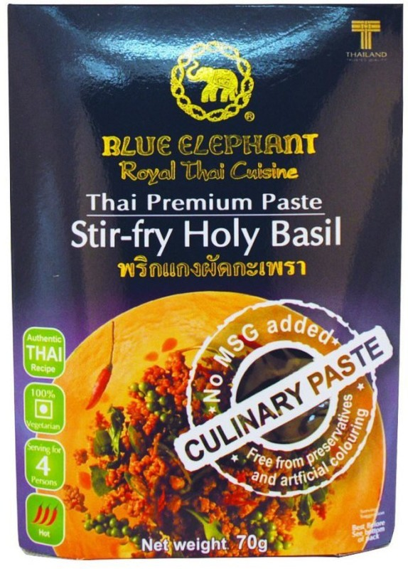 Blue Elephant Thai Stirfry Holy Basil Paste, 70 Gms(70 g)