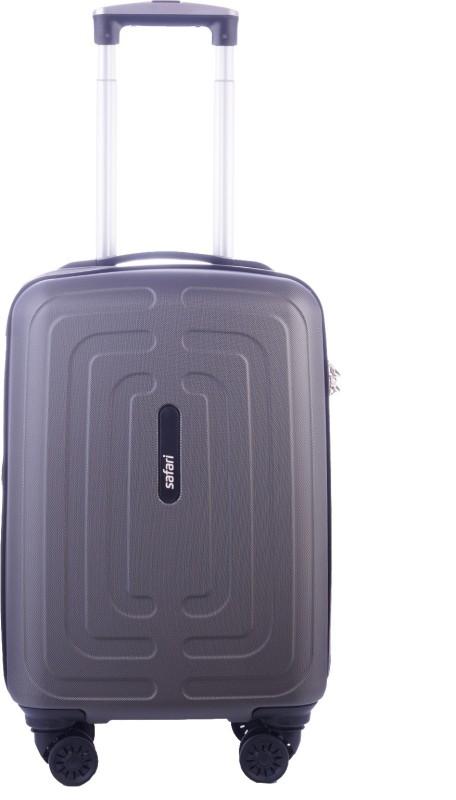 Safari Amaze Hard Trolley Cabin Luggage - 22 inch(Grey)