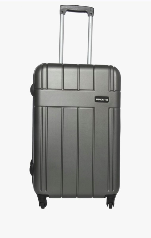 Pronto Breeza Spinner Check-in Luggage - 28 inch(Grey)