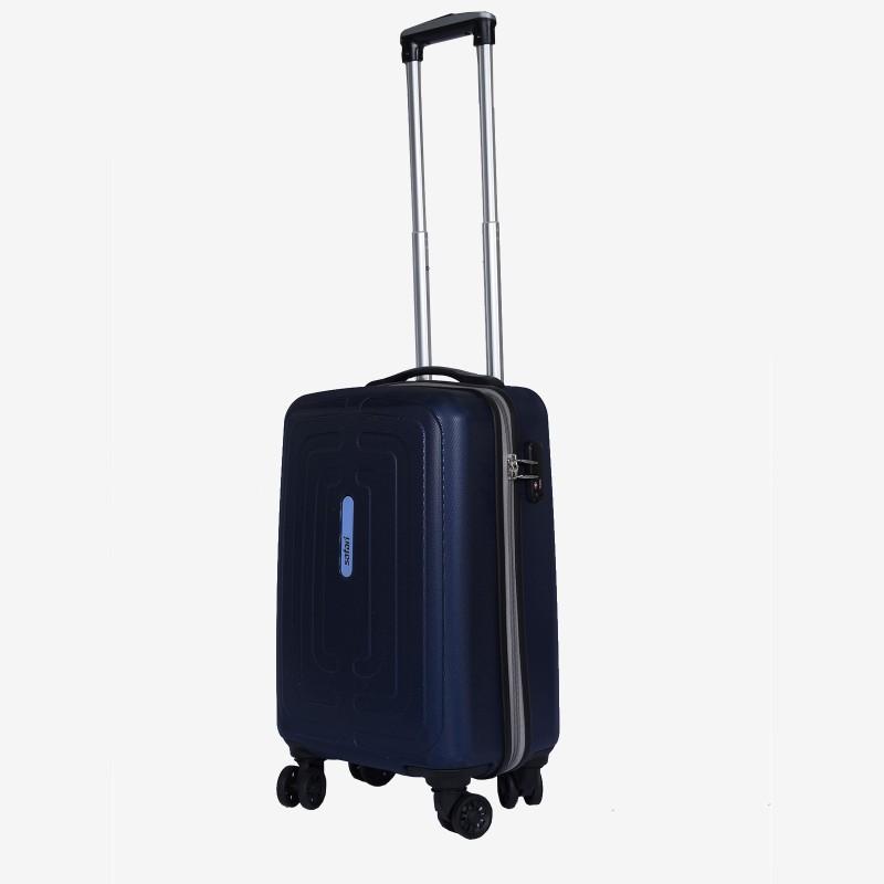 Safari Amaze 55 cm Hard Trolley (Blue) Cabin Luggage - 22 inch(Blue)