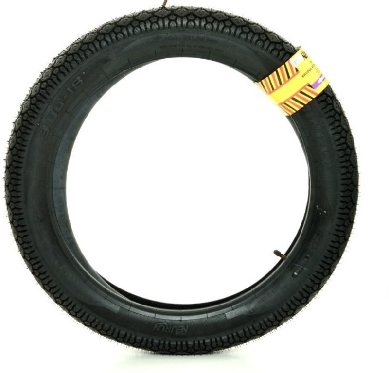 Bridgestone 300 R 18 45.7 cm x 7 cm Front & Rear Tyre(Street, Tube)