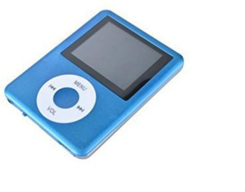 Shrih 3rd Gen Mp4 Player With Video/Audio, FM, Player+Memory Card Support+Voice Recorder+E-Book Reader+Image Viewer SHV-1197 32 GB MP4 Player(Blue, 1.78 Display)