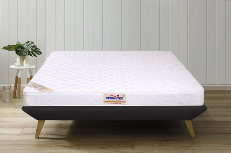 Springtek Dual Comfort Orthopaedic 5 inch Single PU Foam Mattress