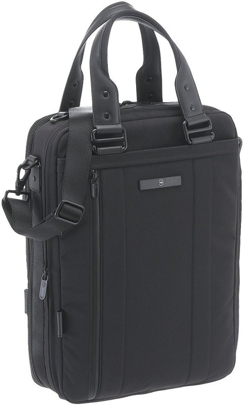 Victorinox Architecture Urban Dufour Medium Briefcase - For Men & Women(Black)