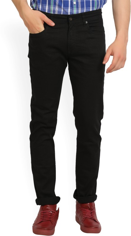 Peter England Slim Mens Black Jeans