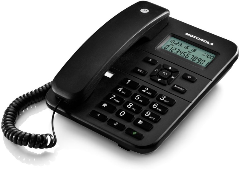 motorola FW200L BLACK Corded Landline Phone(black)