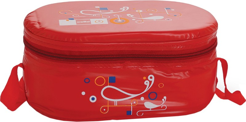 Cello Full on Red 3 Containers Lunch Box(900 ml)